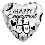 "HAPPY ENGAGEMENT BALLOON  18""  15188-18"